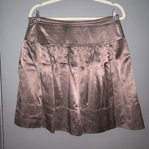 BCBG Max Azaria Copper Satin Skirt